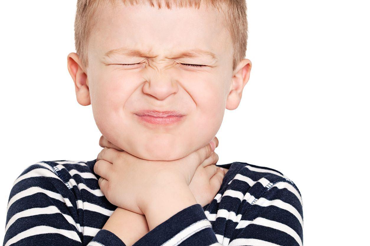 Острый тонзиллит у ребенка 2 года