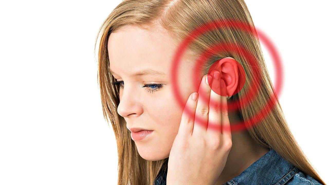 Заложенность и звон в ухе без боли