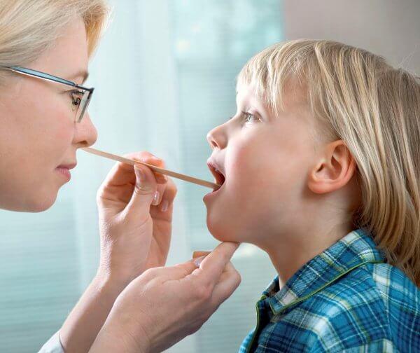 Как выглядит тонзиллит у детей